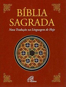 Bíblia Sagrada Paulinas - Nova tradução na linguagem de hoje - Média simples