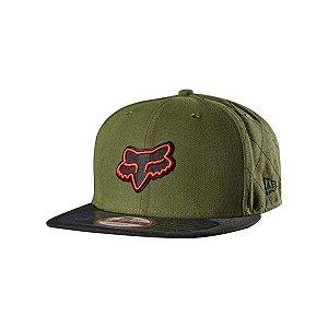 Boné Fox Patrol Snapback Verde Militar