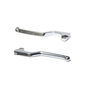 Par Manetes Edgers Honda Crf 230 / Crf 250f Alumínio Prata