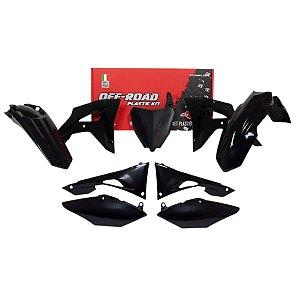 Kit Plástico 7 Peças Rtech Honda CRF 250 19-21 450 19-20 - R-KITCRF-NR0-601