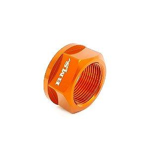 Porca da Roda Traseira KTM MX, MXF Laranja BMS - 48171
