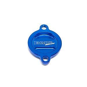 Tampa Filtro Oleo Motor Bms Ktm Sxf250 Sxf350 Azul - 46219