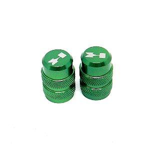 Tampinha Câmara De Ar Kawasaki Bms Verde - 01940
