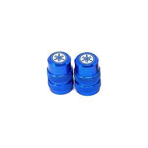 Tampinha Câmara De Ar Yamaha Bms Azul - 01941