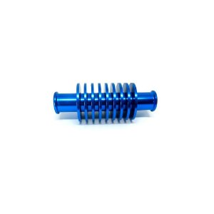 Dissipador De Calor Curto Para Radiadores Bms Azul - 01935
