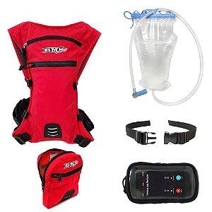 Mochila De Hidratação Completa Xlock Bms Racing - 48134