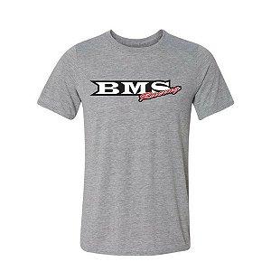 Camisa de Malha Bms Racing - Cinza