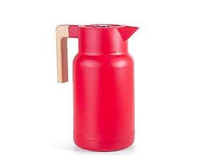 Garrafa Térmica Fashion Glass Vermelha 1L