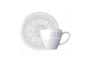 Xícara em Porcelana para Café com Pires Palace  85mL Germer