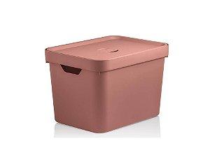 Caixa Organizadora com tampa em Plástico Cube Tcf Ou
