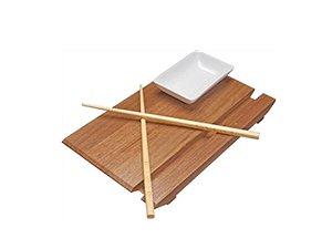 Conjunto com 3 peças para Sushi Tramontina
