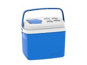 Caixa Térmica Azul 32Lt Soprano
