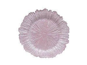 Sousplat em Plástico Lilás 33,2cm Rojemac