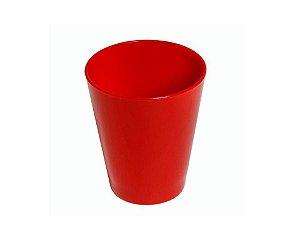Copo Fresc em Polipropileno Vermelho 350 ml Vemplast