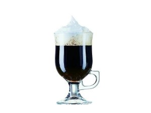 Copo com Pé em Vidro  Irish Coffee 240ml Luminarc