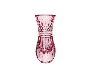 Vaso em Cristal Rosa Lys Rojemac