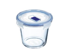 Pote em Vidro Fundo Redondo Pure Box Active 840ml Luminarc