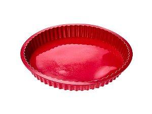 Forma de Silicone vermelha 28cm
