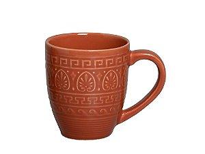 Caneca de Cerâmica Greek Cataloupe 300ml