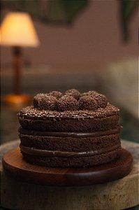 Mini Bolo - Chocolate - Para 3/4 Pessoas
