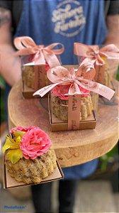 Mini bolinho Dia das Mães com Flores