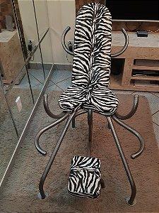 Cadeira Estampa Zebra