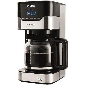 Cafeteira Elétrica Philco Platinum PCFD38 até 38 cafés - Preta