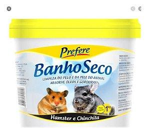 Pó Mármore Banho Seco Hamster Chinchila Ratinho Prefere 1kg