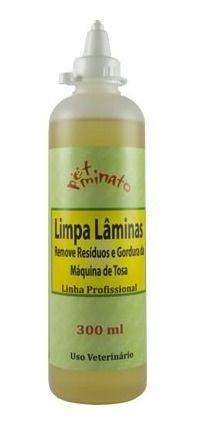 Limpador Laminas Maquina Tosa Petminato Cães E Gatos 300ml