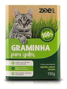 Graminha Para Gatos Zoe Pet Eliminação Pelos Digestao 130g