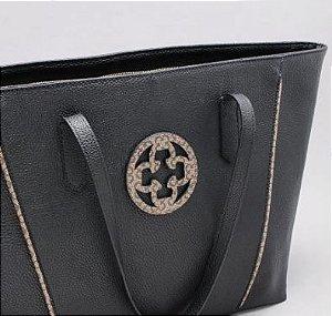 Bolsa Shopper Capodarte Detalhe em Monograma