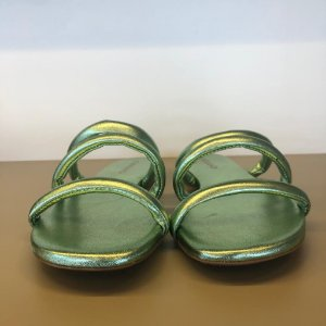 FLAT KNOT DOUBLE COURO VERDE CARRANO
