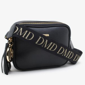 BOLSA SHOULDER BAG DMD COURO PRETA