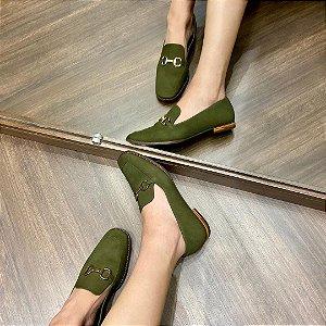Sapato Nobuck Sandalo Capodarte