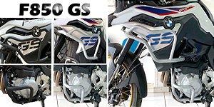 PROTETOR MOTOR + CARENAGEM BMW F850 GS PREMIUM