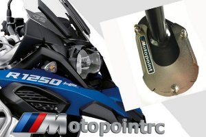 AMPLIADOR DA BASE DO DESCANSO LATERAL BMW  R1250 GS ADVENTURE