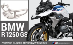 PROTETOR MOTOR INFERIOR INOX BMW R1250 GS LC