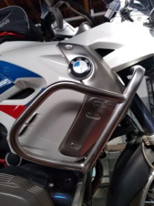 PROTETOR SUPERIOR CARENAGEM BMW R1200 GS AR
