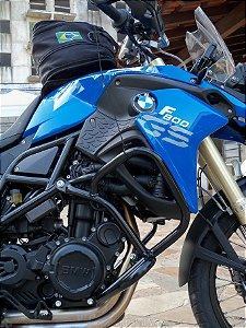 PROTETOR MOTOR INFERIOR + CARENAGEM SUPERIOR (AÇO) F800GS