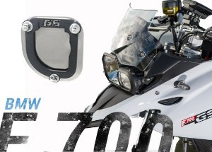 AMPLIADOR BASE DESCANSO LATERAL BMW F700GS