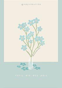 Cartão Dia dos pais | Produto digital enviado por e-mail