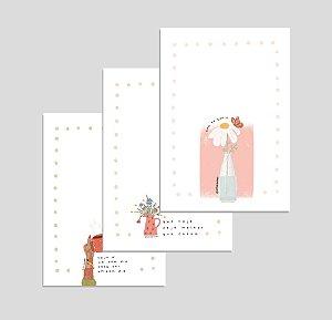Kit 3 Cartões: Bem Me Quero, Bom Dia e Hoje é Melhor | Produto digital enviado por e-mail