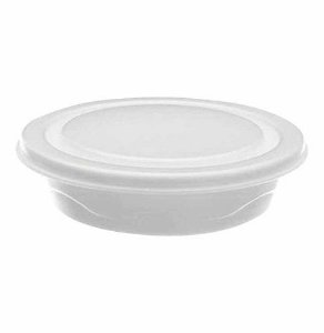 Marmitex Isopor N8 C/ 100 - Totalplast