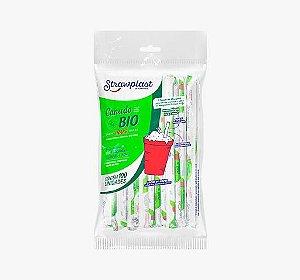 Canudo Bio 10MM Milk Shake 1500UN - Strawplast