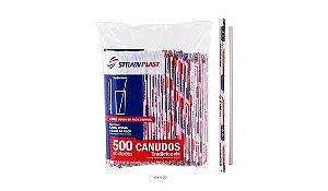 Canudo Sachê 500 Un - Strawplast