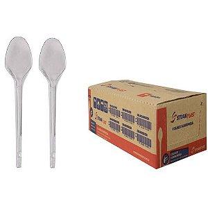 Colher Sobremesa c/  1000UN - Strawplast