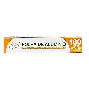 Papel Alumínio Rolo 30X100M - Mello