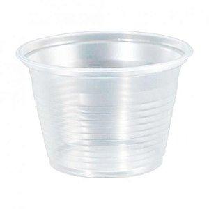 Pote 100ML Transparente Caixa C/20 Pacotes 100UN - Totalplast