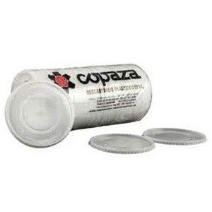 Tampa TP08 Milk Shake C/Furo  Caixa C/ 40 Pacotes de 50UN -Copaza