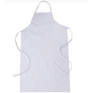 Avental Pvc Plástico Branco
